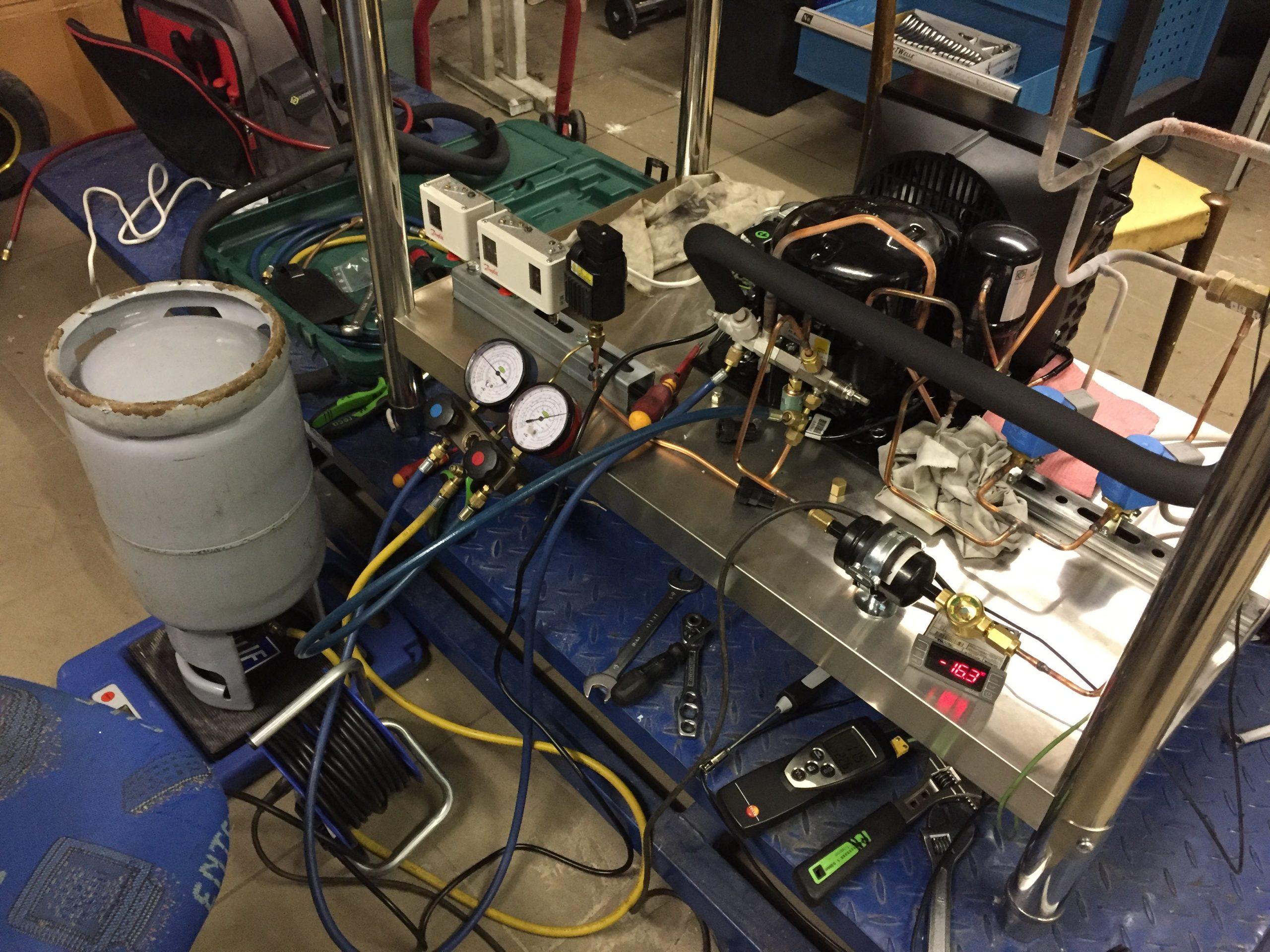 Anlagenoptimierung Klimaanlage