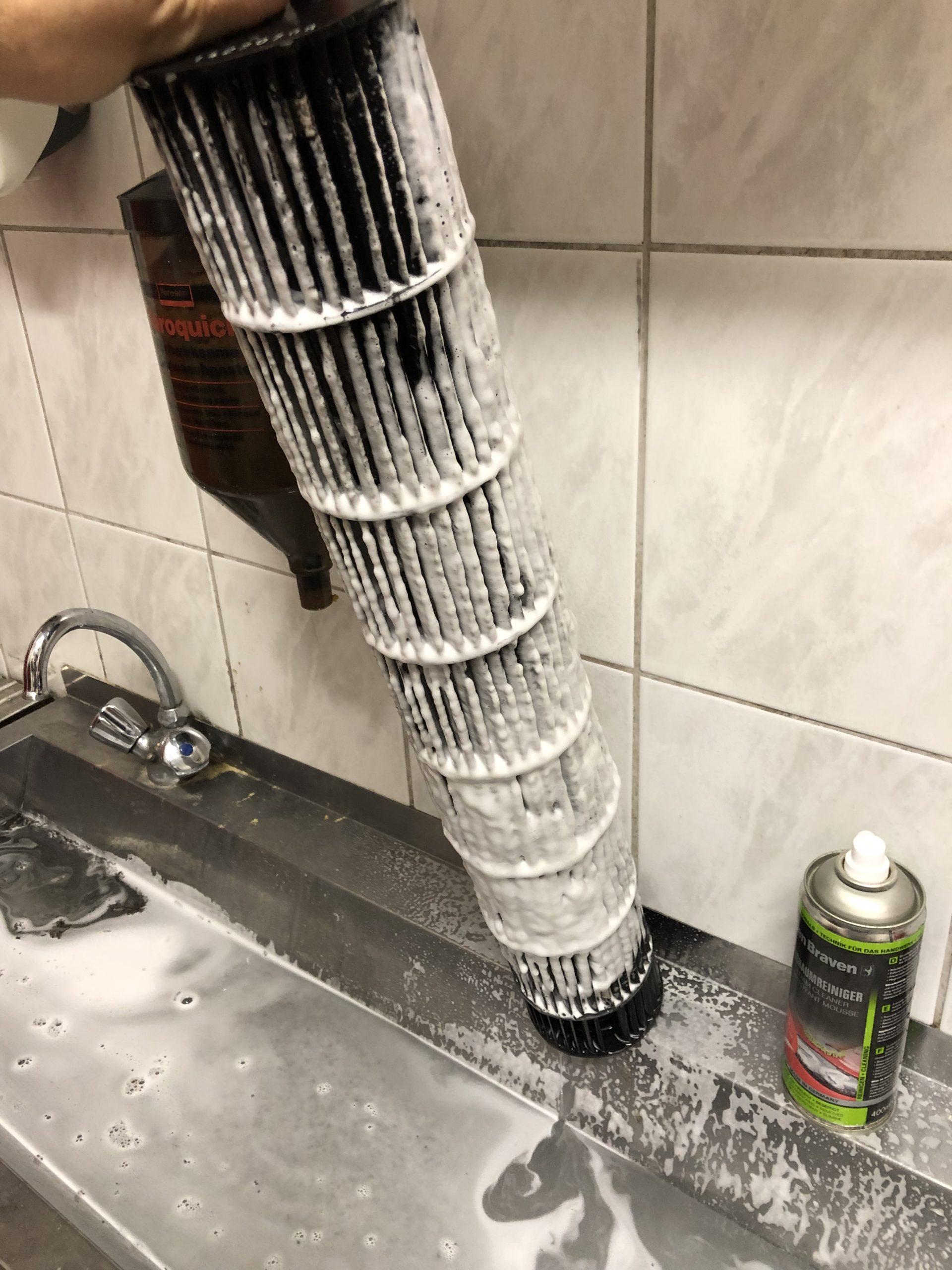 Klimaanlage Filter reinigen