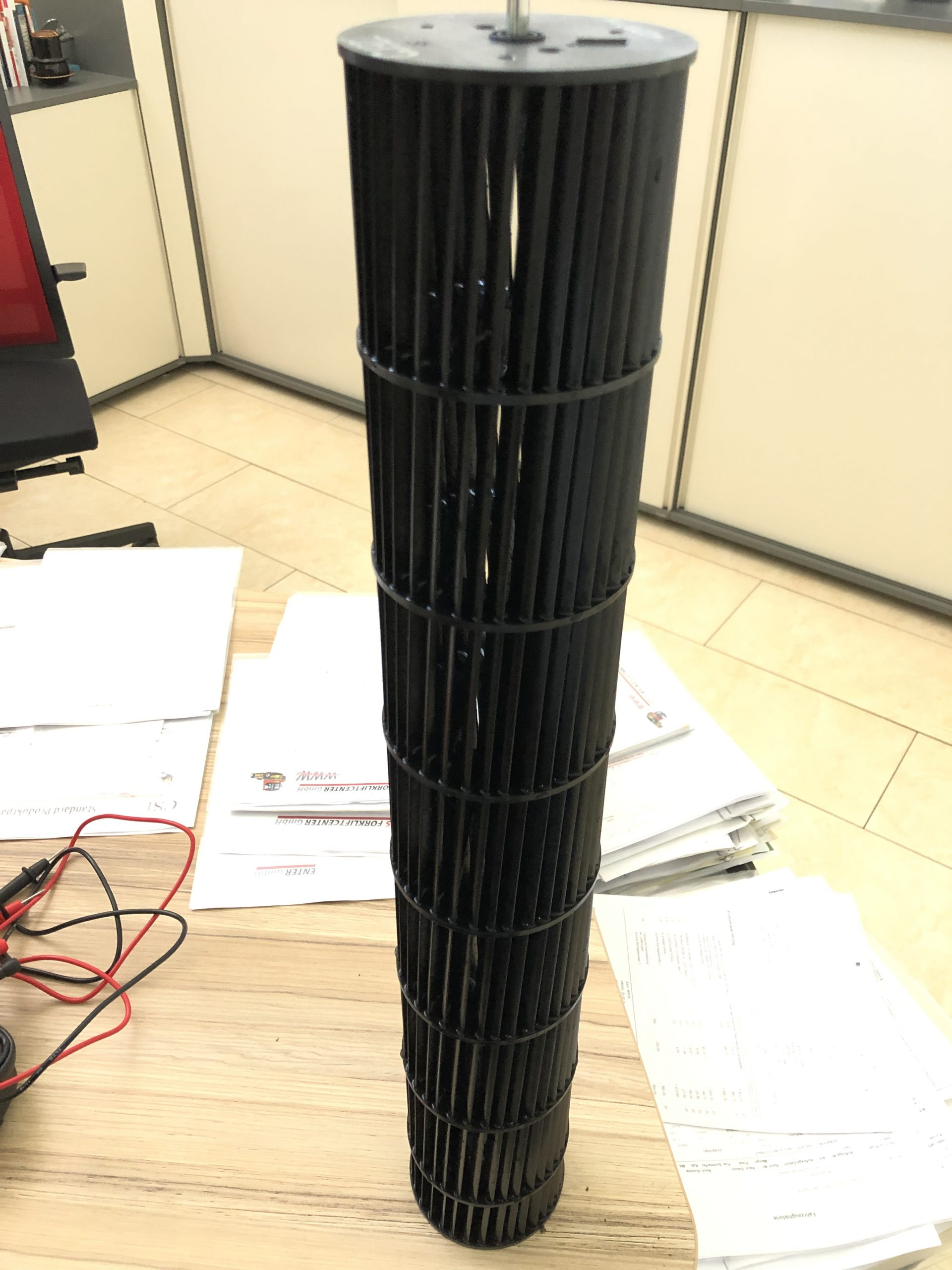 Klimaanlage Filter sauber